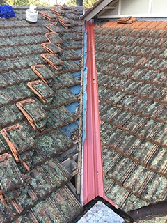 Roof Valley Repair In Sequence